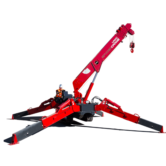 Steel Erection SPYDERCRANE