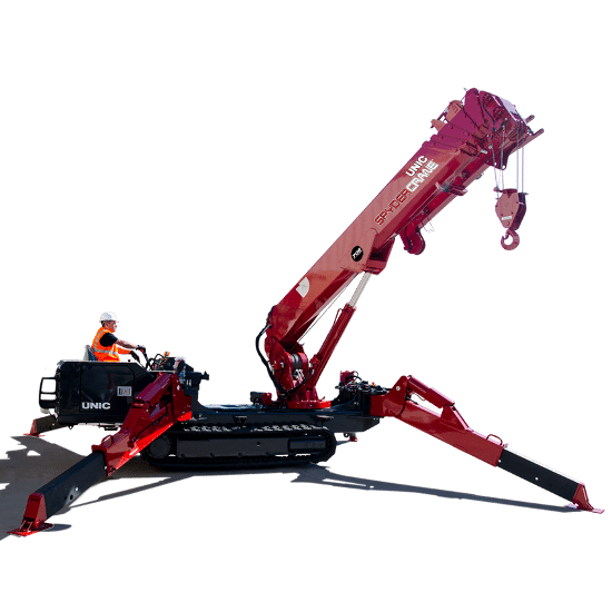Largest SPYDERCRANE mini crane