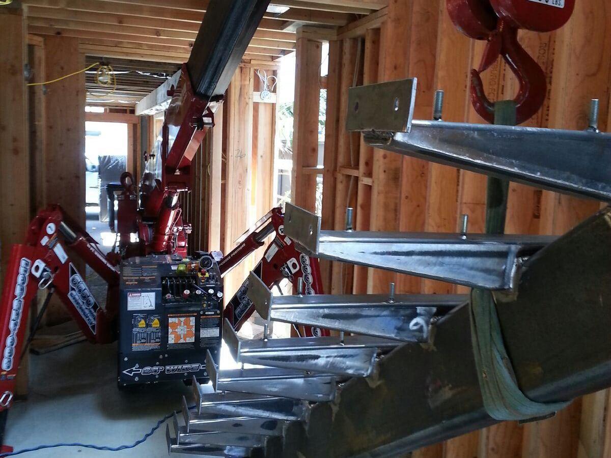 stair lifter crane