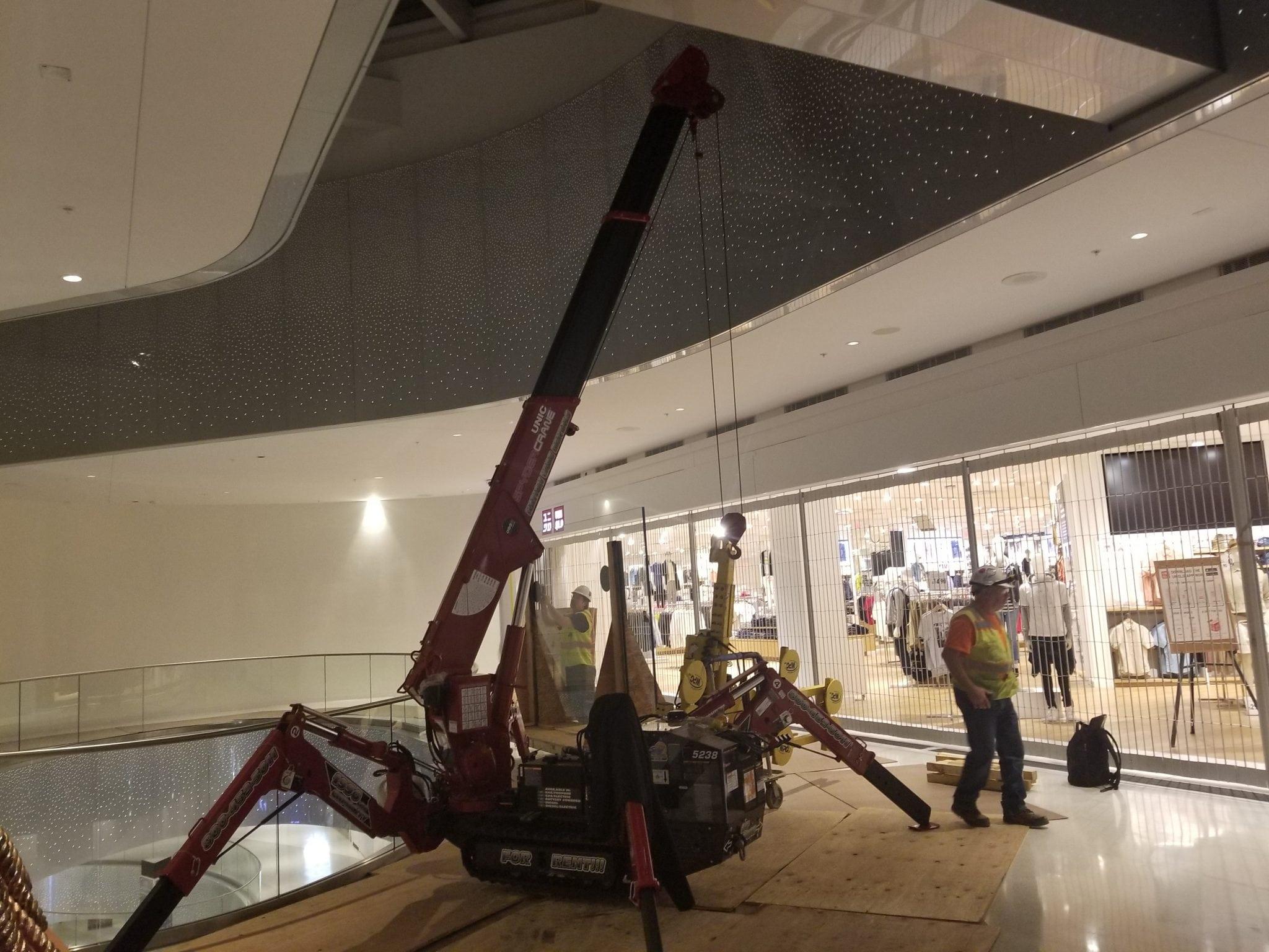 mall crane