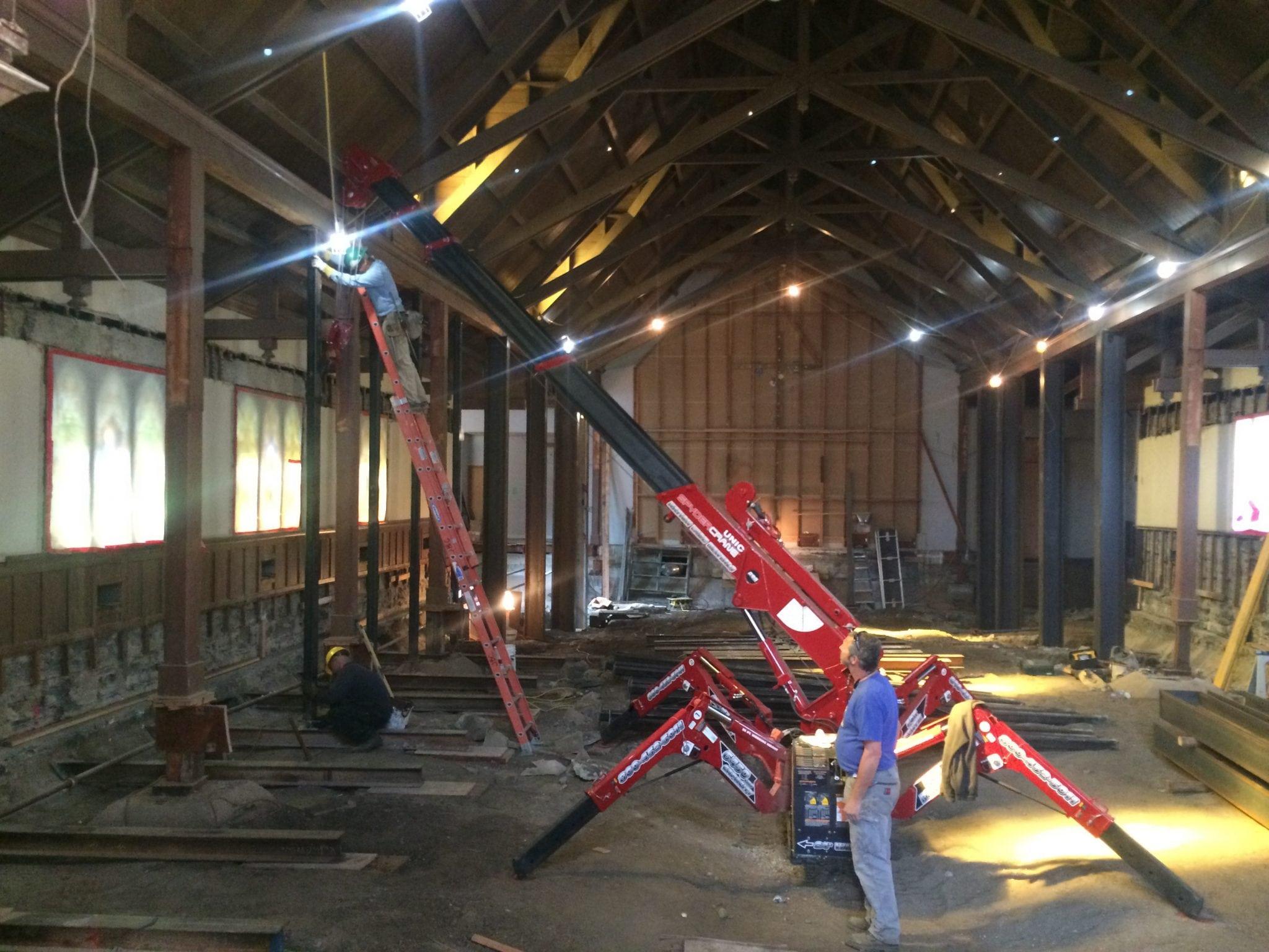 restoration crane