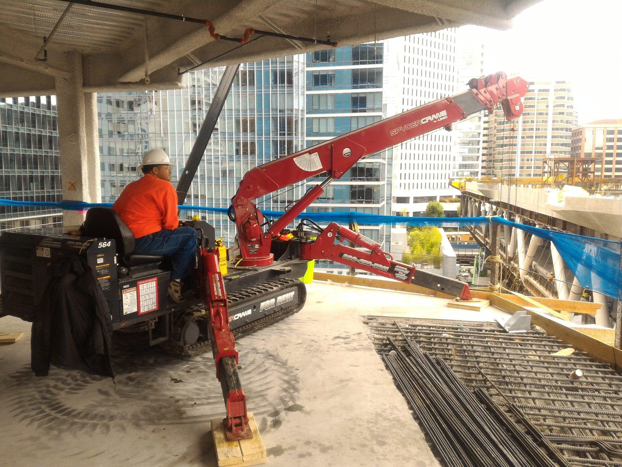 over side crane