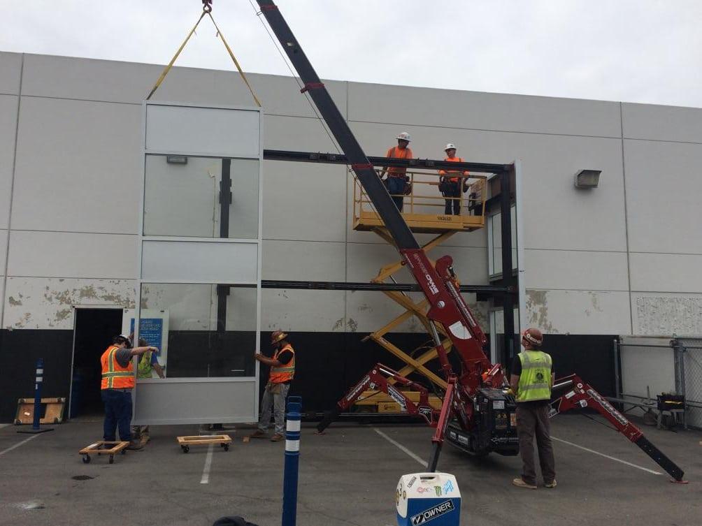 windos panel crane