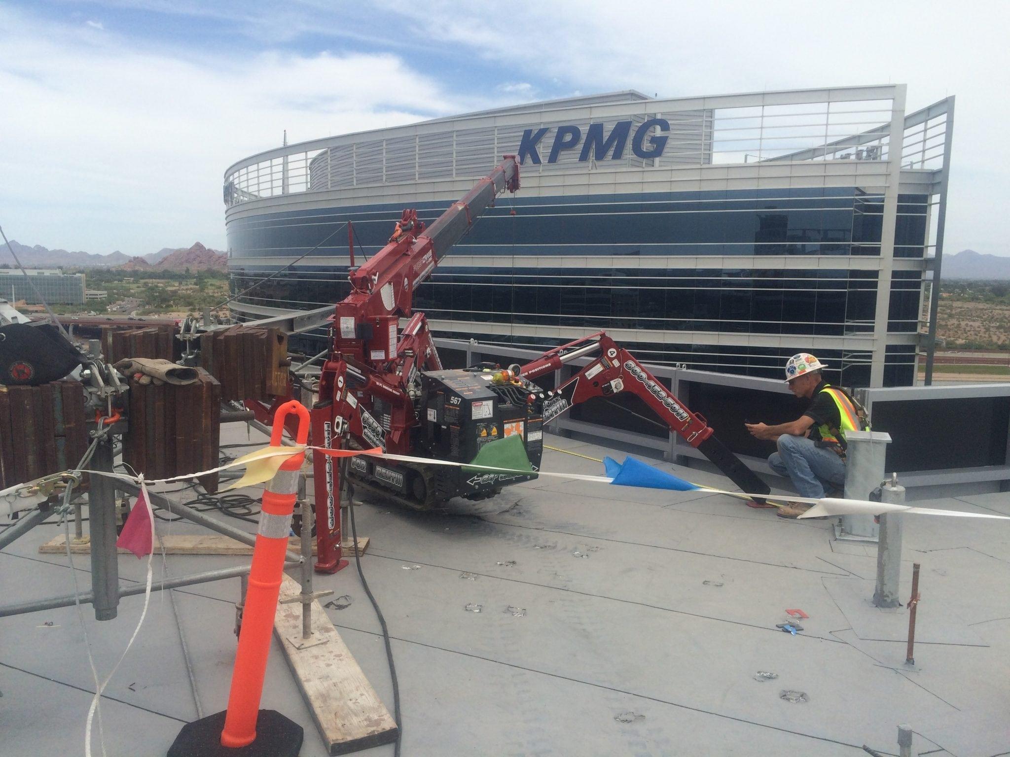 rooftop crane