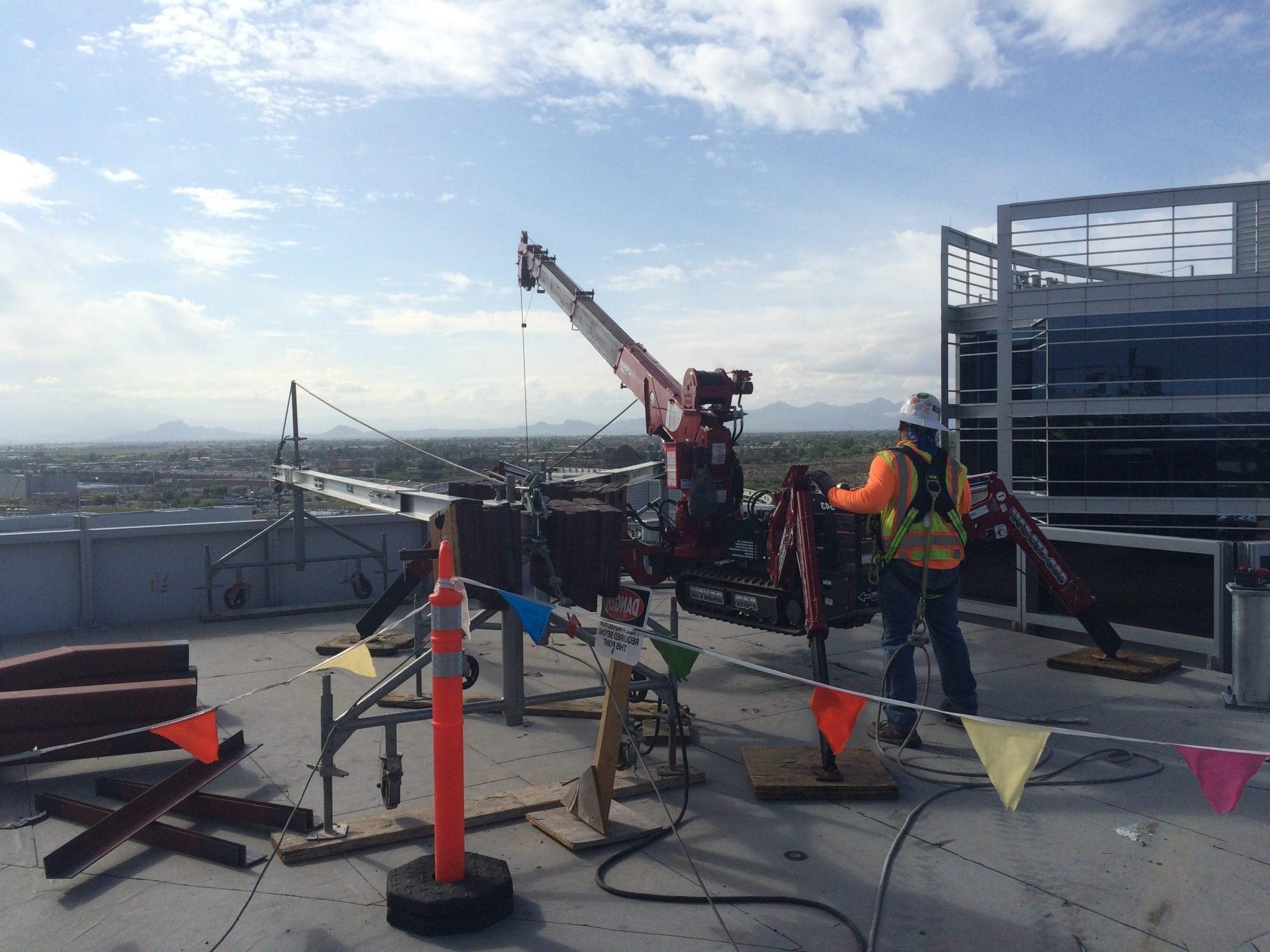 roof top crane