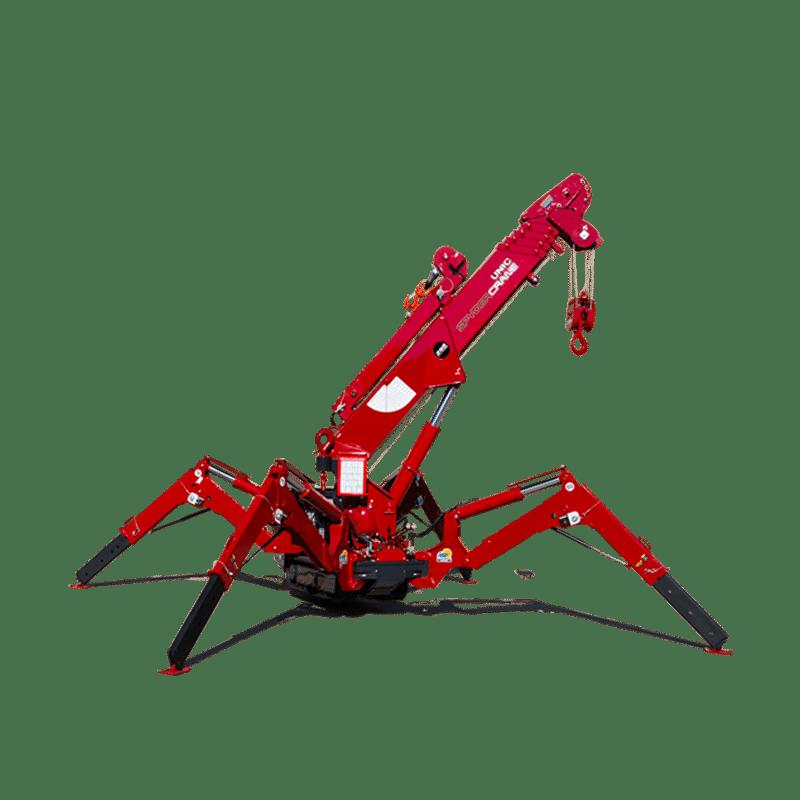 Crane Pictures unic spydercrane official site | mini cranes for confined spaces